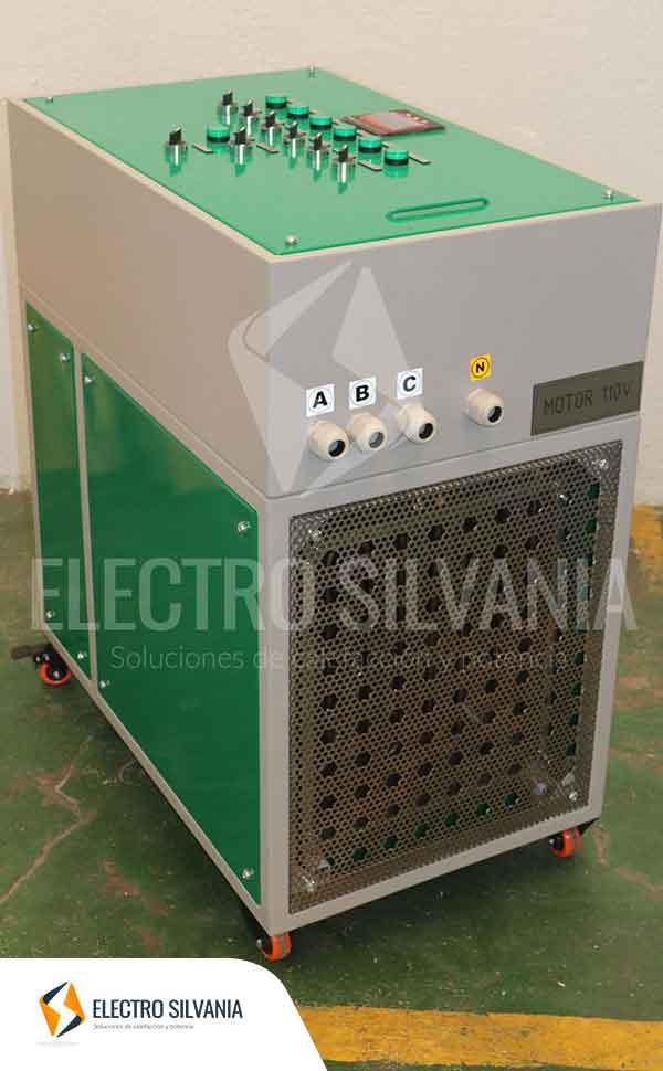banco de carga 15KW 110 v