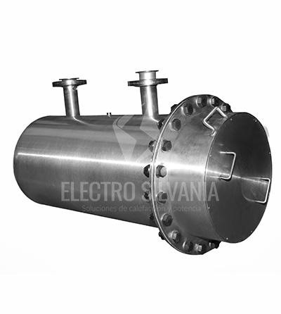 calentador para línea de aire de alta presión