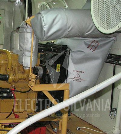 chaqueta aislante para sistema de calefacción