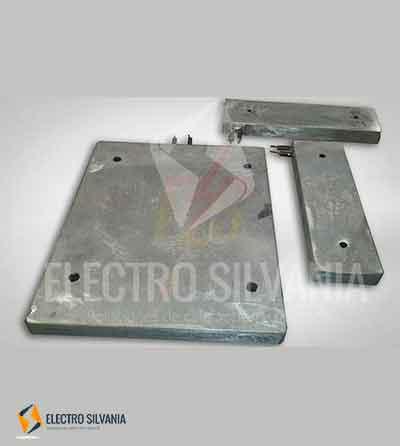 resistencias fundición aluminio para molde de extrusión temperatura operación