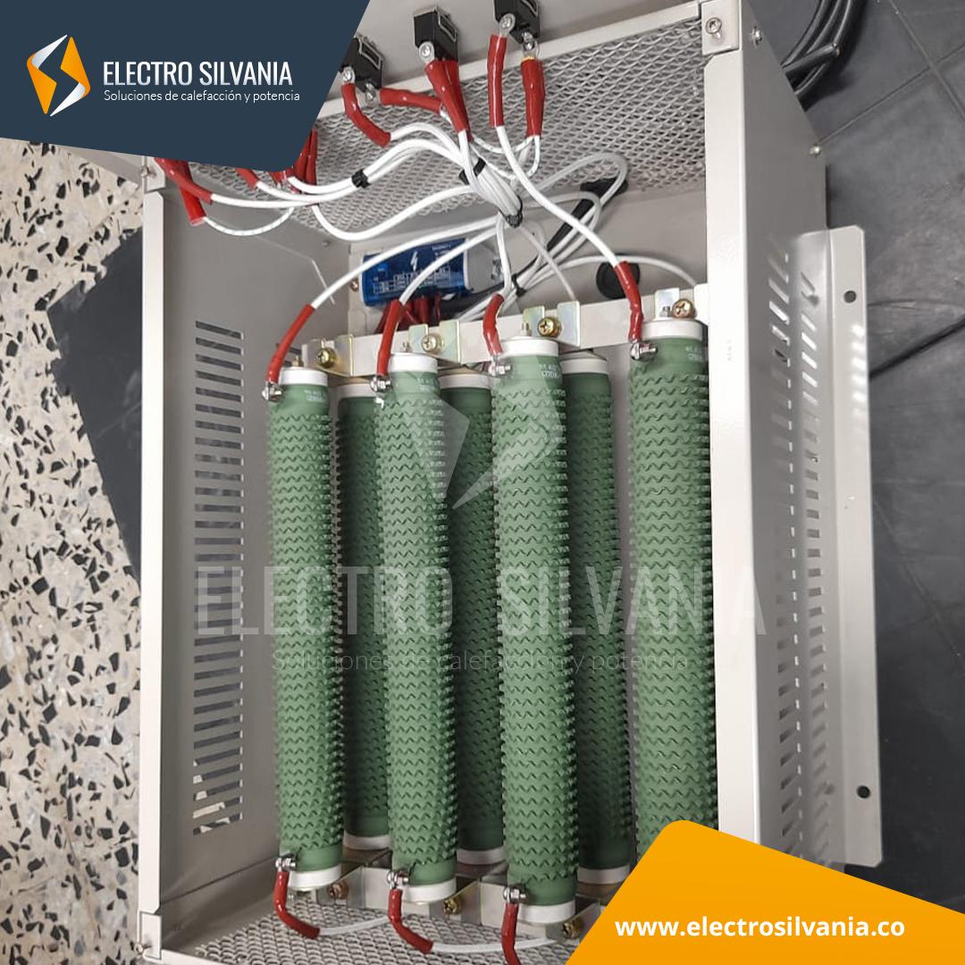 Banco para descarga de Baterías a 24 VDC