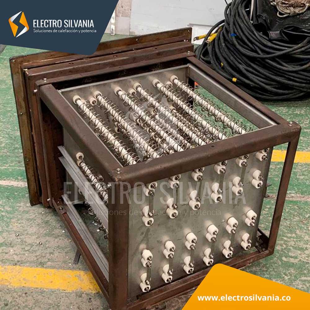 Fabricacion, instalacion y calibracion de Modulo de resistencias para Horno de Tratamientos termicos electrosilvania HIST 3