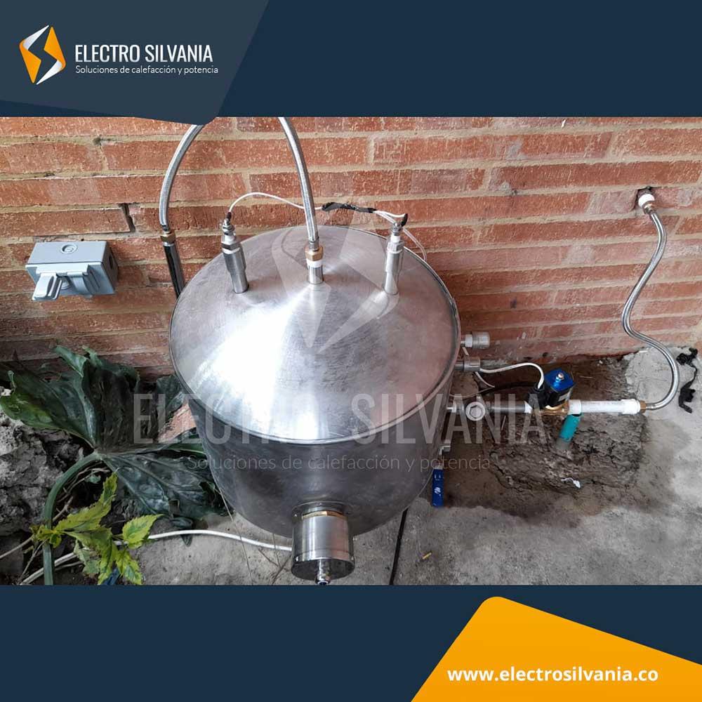 Instalación sistema de vapor para cuarto turco